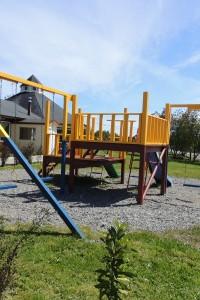 Patio de Juegos para los más pequeños de la familia | Cabañas Miradores de Panitao